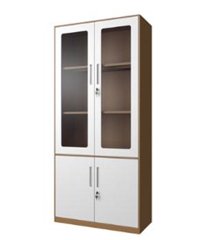 CB02-K整体玻璃开门柜