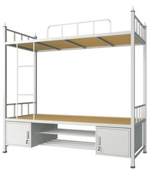 SC04带底柜双层床