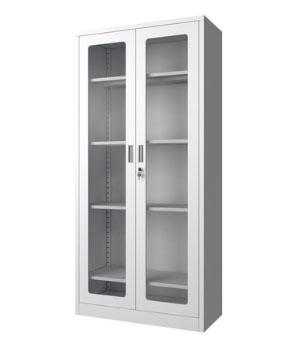 CK01-B通体玻璃开门柜