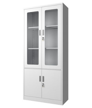 CK02-B整体玻璃开门柜