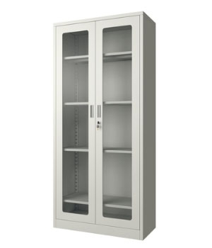 GK01-T通体玻璃开门柜