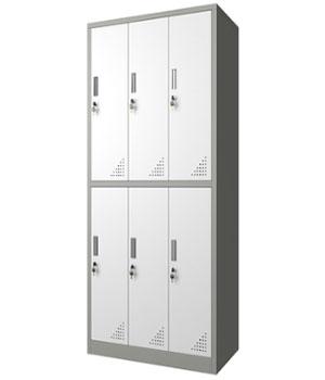 GK12 -H六门更衣柜