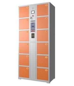 CB02  12门智能卡电子存包柜