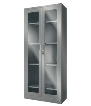 Y08不锈钢通体开门柜