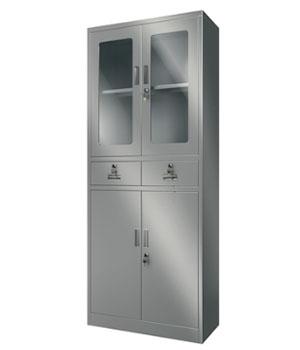 Y09不锈钢玻璃柜
