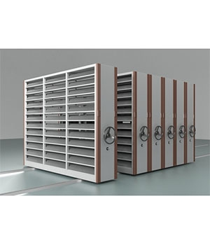 MJ05手动光盘存储密集架